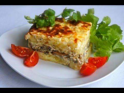 Картопляна запіканка ( Картофельная запеканка с мясом )