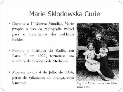 Marie Curie - Ana Cavaleiro, Carolina Silva e Grac...