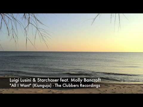 Luigi Lusini & Starchaser feat Molly Bancroft  All I Want  Teaser