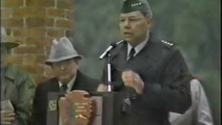 "Colin Powell - 19 November 1992 - ""WGAL Live"" (Part 1 of 3)"