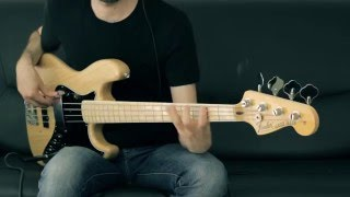 Rage Against The Machine - Bombtrack - Bass Cover - Bruno Tauzin