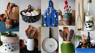 20 Ideias Para Decorar Sua Cozinha Com Reciclagem e Artesanato