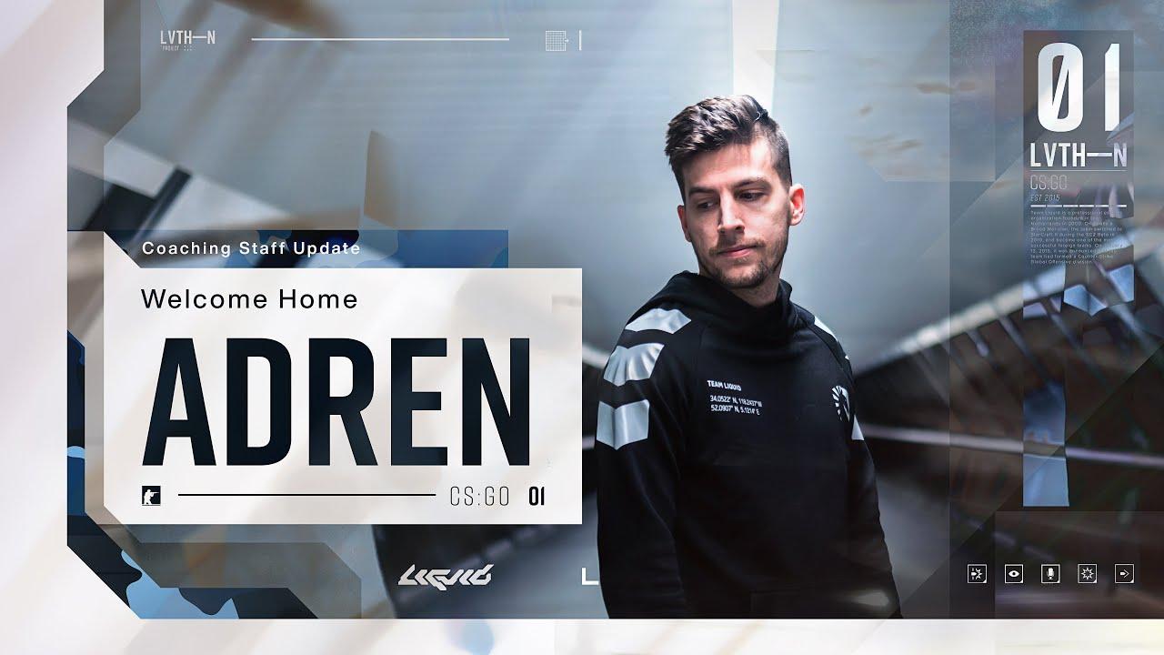 adreN returns to Team Liquid