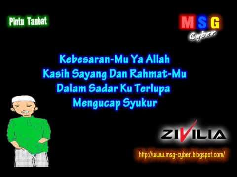 Zivilia - Pintu Taubat (Religi 2011) + Lirik Lagu.