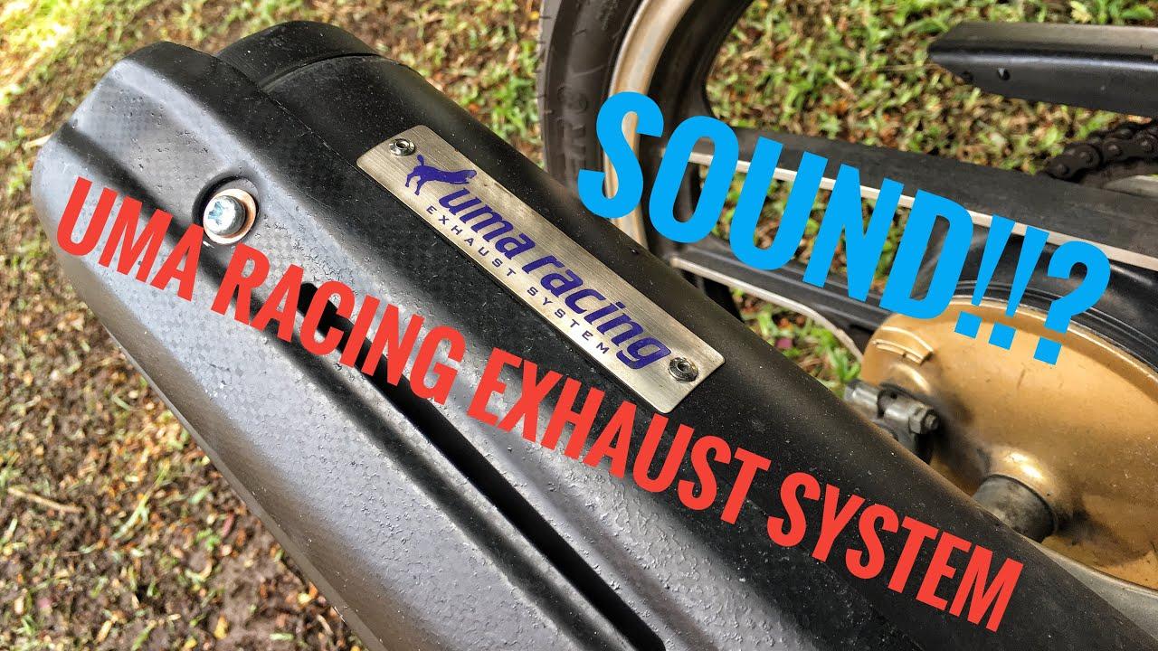 UMA RACING EXHAUST LC135 4S SOUND | LC135V1 | Motovlog