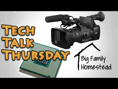 Tech Talk- Video Production Stuff for Youtube Creators  9_8