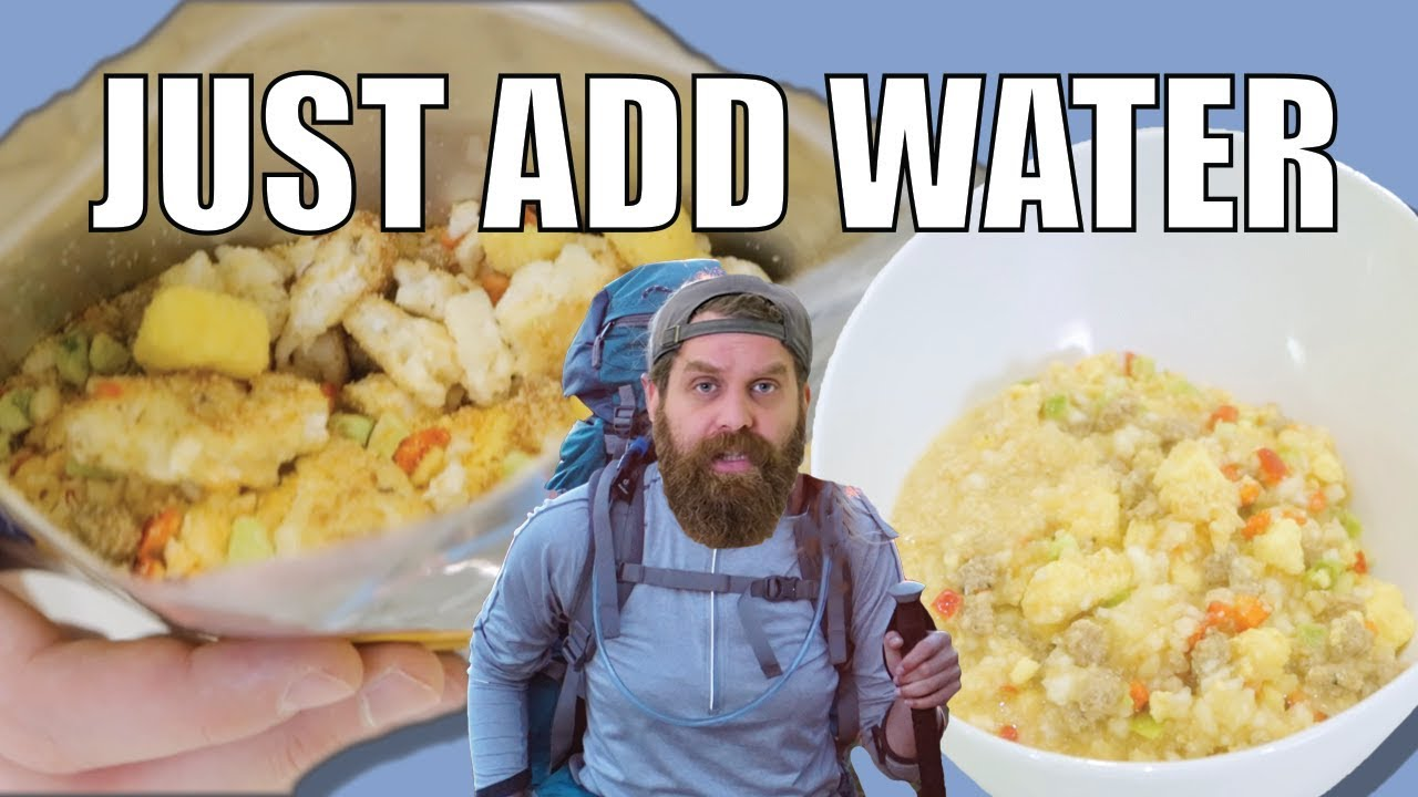 Dehydrated Food Taste Challenge  - Just Add Water
