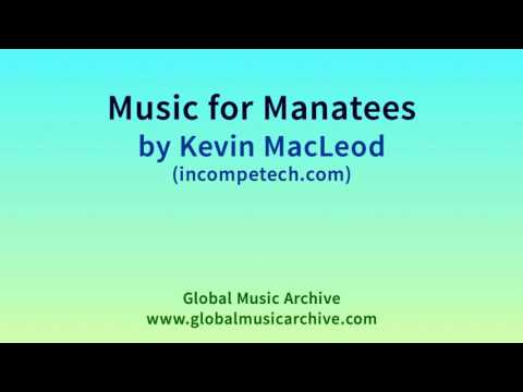 Music for Manatees by Kevin MacLeod 1 HOUR