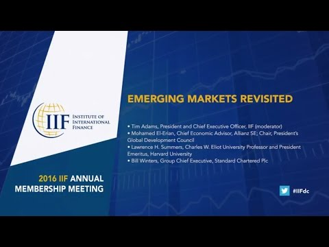 EMERGING MARKETS REVISITED
