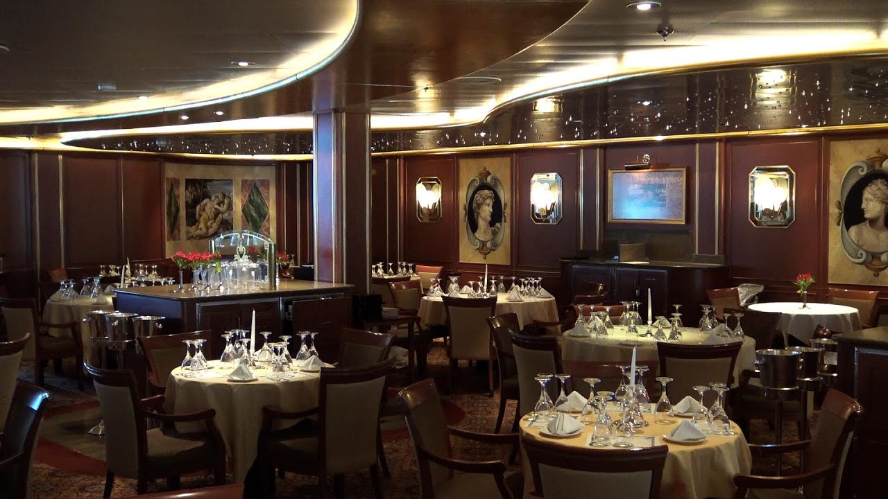 Emerald Princess Tour Michelangelo Dining Room Youtube