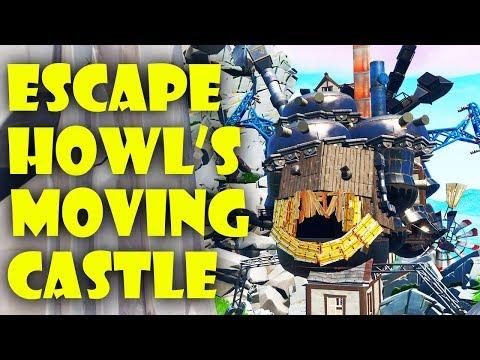 escape-howl's-moving-castle-fortnite-creative-map-trailer!