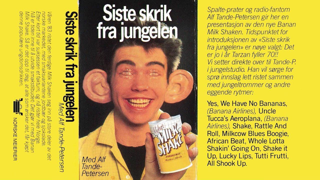 Siste Skrik Fra Jungelen - Med Alf Tande-Petersen - YouTube