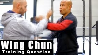 Wing Chun training - wing chun why not use the center line. Q12