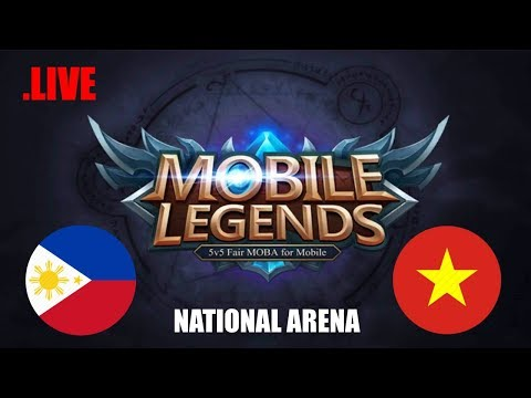 Philippines vs Vietnam National Arena & Viewers Game | Mobile legends Live