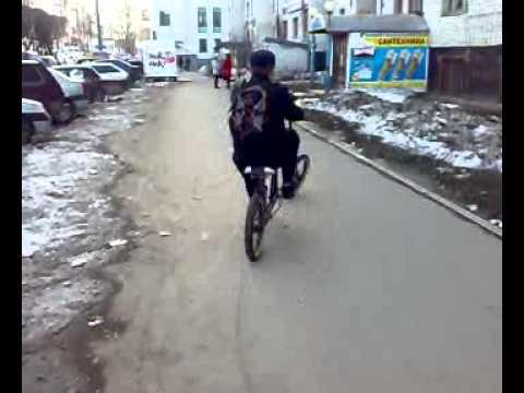 видео: Вело самоделка на базе Аист