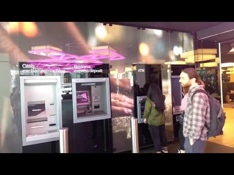 Bank of Melbourne video wall