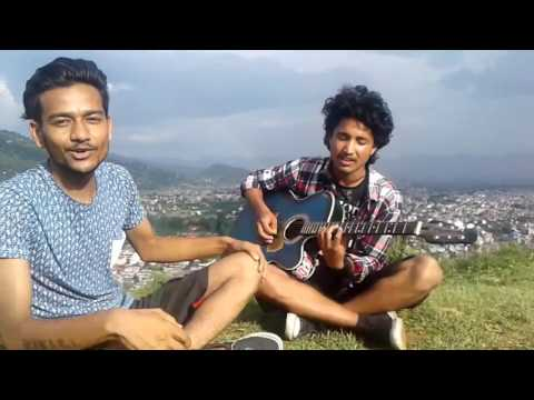 Chari varara anuprastha. Vocalist bikal. Guitarist sagar and camera sandip.