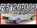 PASTORE R$ 26.000 Volkswagen #VW Passat LS 1982 Cinza Carrara aro 17 MT4 FWD 1.5 78 cv 11,5 kgfm