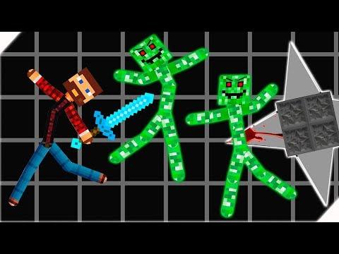 БИТВА МАЙНКРАФТ СТИКМЕНОВ - Stickman Warriors My Craft Online. Игры на Андроид