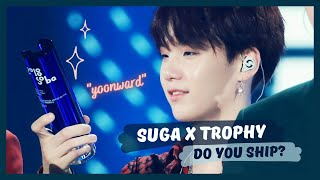[BTS TMI Lab] The Real Ship in BTS: Suga x Trophy | Yoongi's cute obsession with trophy