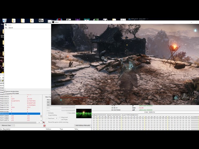 Sekiro Stealth Undetected - Conditional Break and Trace