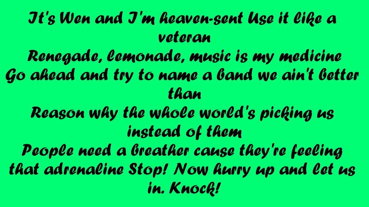 Lemonade lyrics youtube