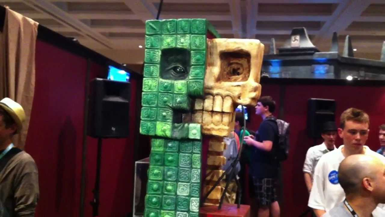 Pax Prime 2012 Anatomy Of A Creeper Sculpture Minecraft Youtube