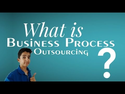 Hindi What Is Business Process Outsourcing Bpo Youtube