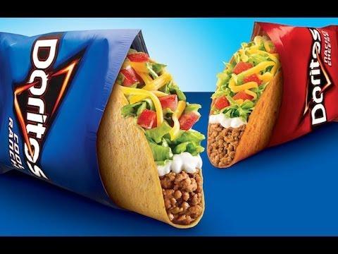 Taco bell - locos tacos ( из чипсов Doritos)