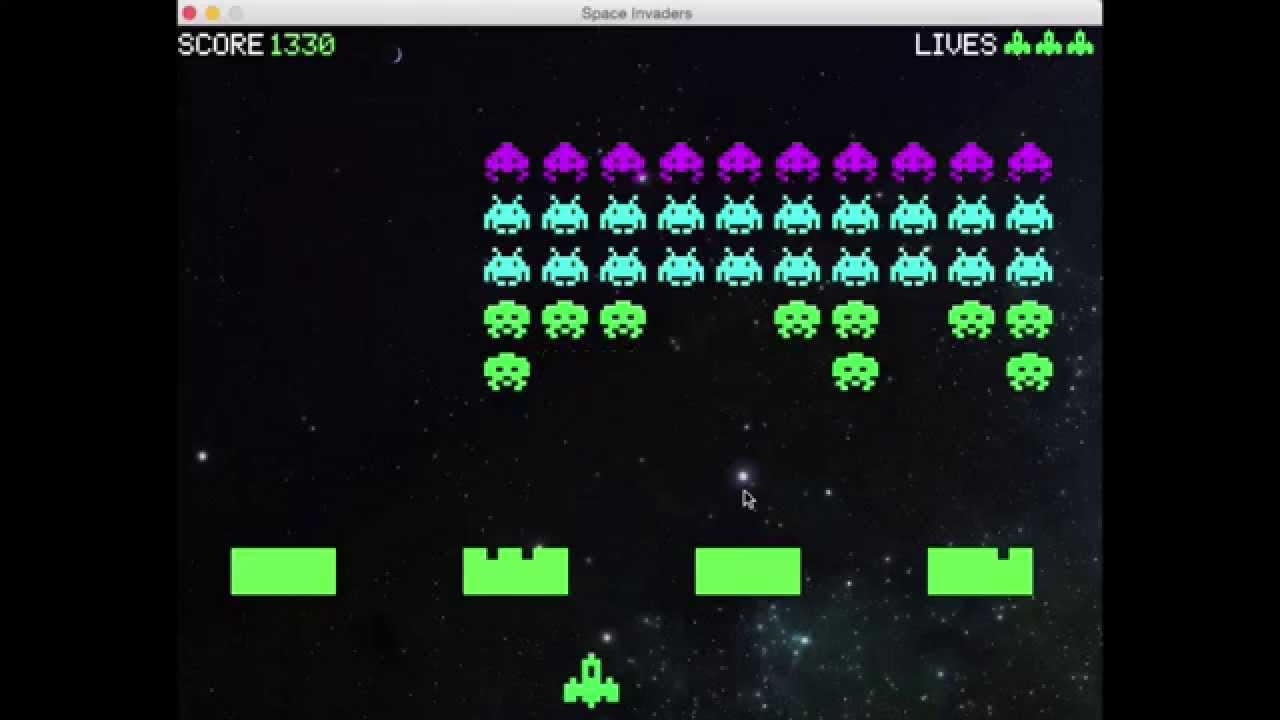 Space Invaders using Python