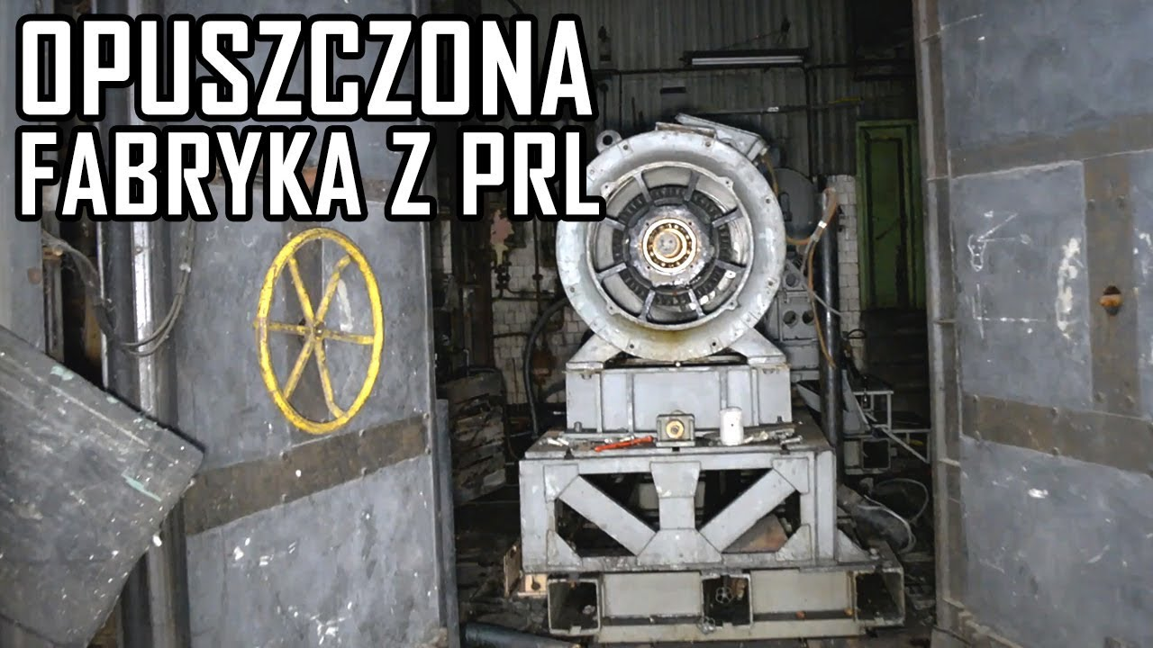 Opuszczona fabryka silników do czołgów – Urbex History