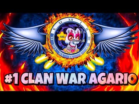 CLAN WAR AGARIO MOBILE #1 / SADIS VS LS / 2-0