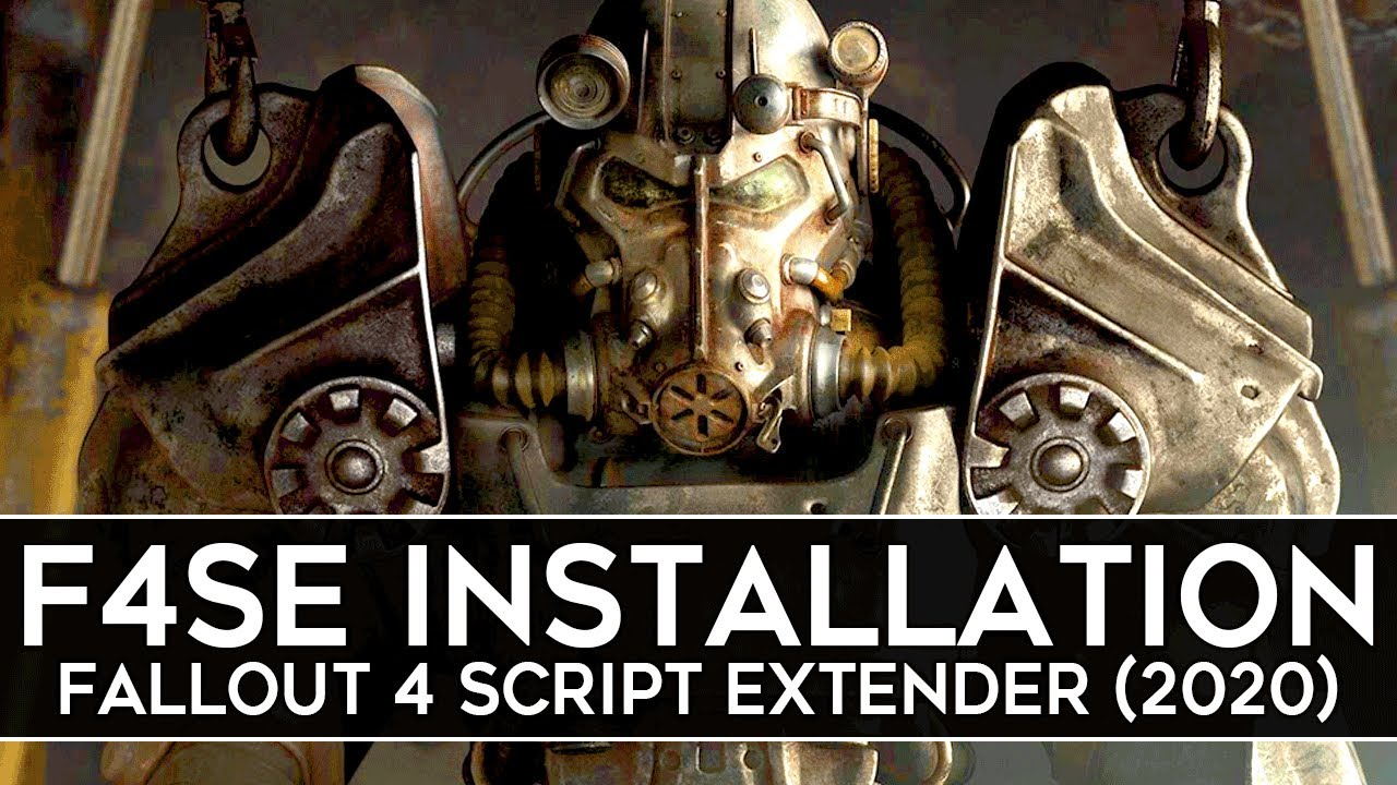 Download How to Install F4SE for Fallout 4 (2020) - Script Extender v0.6.20