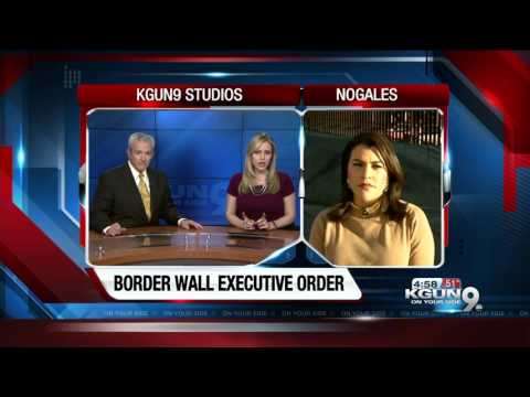 Trump signs executive order on Mexico wall, sanctuary cities