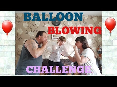 Balloon Blowing Challenge /  (Blow To Pop)