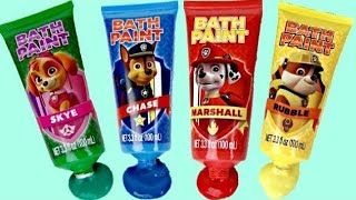 Bath Hygiene with Paw Patrol Paddli...