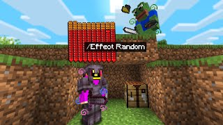 Minecraft Manhunt But, You Get Random Potion Effects!