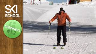 Beginner Ski Lesson #1.2 - Sliding On Snow