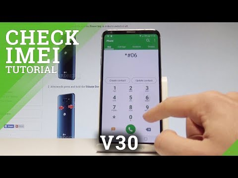 How to Check IMEI in LG V30 - Serial Number / Status Info |HardReset