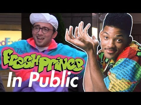 Fresh Prince of Bel Air Theme Song IN PUBLIC