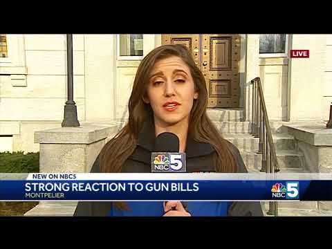 Vermonters speak out as Gov. Phil Scott signs 3 gun bills into law