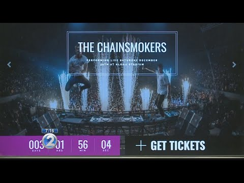The Chainsmokers to draw huge crowds to Aloha Stadium for one of the biggest concerts of the year