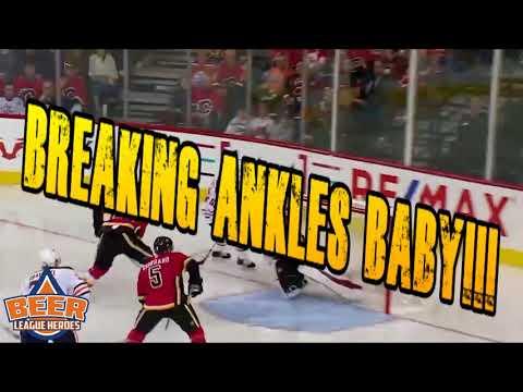 Kailer Yamamoto Breaks Dougie Hamilton's Ankles - Beer League Heroes