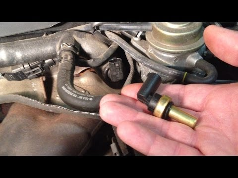 Temperature Gauge Wiring Diagram 2002 Hyundai Accent Gl Stereo Replace Mercedes Coolant Temp Sensor 2004 C230 - Youtube