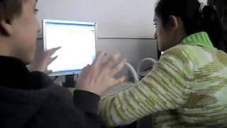 На уроке информатике:D