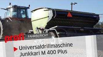 Universaldrillmaschine Junkkari M 400 Plus: Einfach finnisch | profi #Fahrbericht