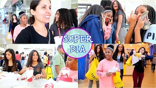 Super Dia de Compras Con Jovencitas  Guapas 👯♂️👭 !!| VLOGS DIARIOS - Feb. 11, 17 ♡IsabelVlogs♡