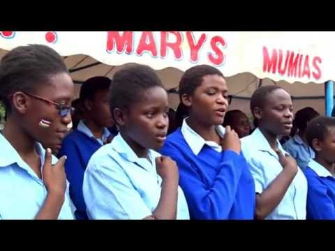 SCHOOL GIRLS DANCING NIKUPENDEZE BY MERCY MASIKA ...AFRIKWEAR ENTERTAINMENT UNIT AT ST MARY'S