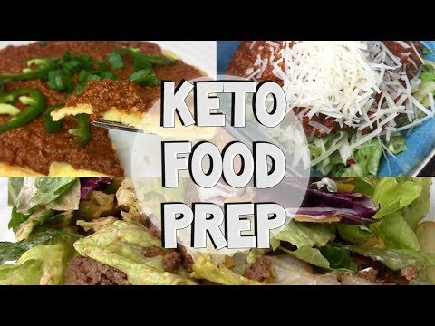 EASY KETO FOOD PREP- Ground Beef 3 Ways!