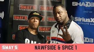 Hip-Hop Legends Spice 1 and Nawfside Honor Pimp C and Tupac in New Album | SWAY'S UNIVERSE
